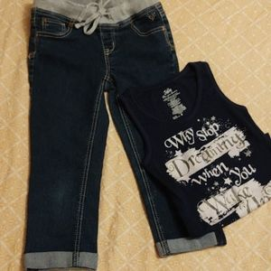 Girls two piece Justice set